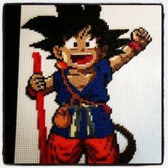 Goku hama perler beads by xaviml: