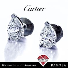 #CARTIER 2.02ctw #Pear Shape #Diamond #Stud #Platinum #Earrings GIA G VS2 Box & Cert | Discover the World's Treasures @ http://stores.ebay.com/pangeacoinsandjewelry • http://pangeararities.com • http://facebook.com/pangeararities • http://instagram.com/pangeararities  Discover the World's Treasures @ http://stores.ebay.com/pangeacoinsandjewelry • http://pangeararities.com • http://facebook.com/pangeararities • http://instagram.com/pangeararities #Jewelry #Repairs #Ring #Platinum #Diamond…