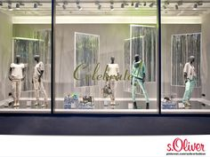 """s.Oliver Visual Merchandising """"CELEBRATE"""" at s.Oliver Fashion Store Wuerzburg, Germany."""