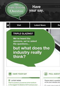 Triple Glazing Question - Website, Email Marketing