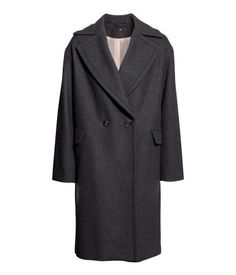 Product Detail   H&M US oversized wool-blend coat