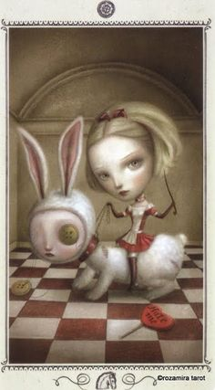 Knight of Coins - Nicoletta Ceccoli Tarot by Nicoletta Ceccoli