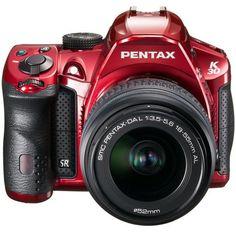 Pentax K-30 Weather-Sealed 16 MP CMOS Digital SLR with