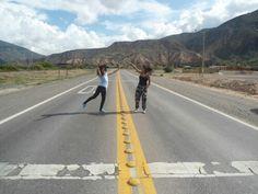Salta Argentina , travel , friend , road
