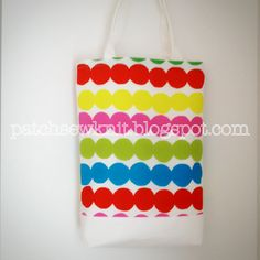 Patch, Sew and Knit!: A Reversible Bag with Marimekko Räsymatto