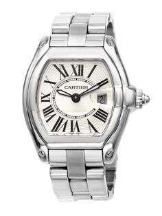 Estate Watches Women's Cartier Roadster Stainless Steel Watch