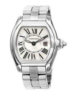 Estate Watches Women's Cartier Roadster Stainless Steel Watch