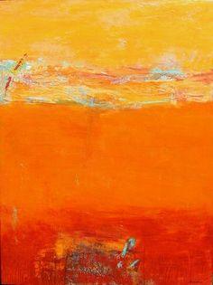 Peggy Hinaekian - Desert dreams,   acrylic on canvas
