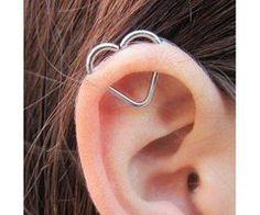 Cute ear piercing