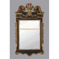 Barok Spiegel Napoleon Empire Goud Zwart | Le Chique Wonen