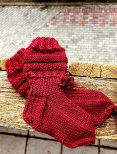 Red bordo merino socks Merino Wool Socks, Knitted Slippers, Head Accessories, Baby Booties, Knitting Socks, Fingerless Gloves, Arm Warmers, Etsy Seller, Booty