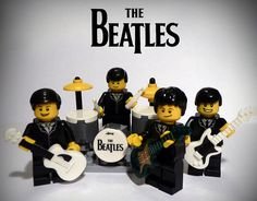 100 custom LEGO minifigs - The Beatles. (you should go have a look.  Some amazing things: Dr Who, Supernatural, Ghostbusters, lots of Star Wars, just to name a few...!)