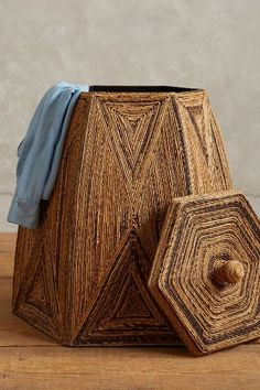 Taman Laundry Basket - anthropologie.com.   Would love this in my home!