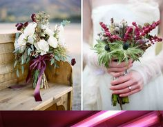 Winter Bridal Bouquets | Whiter than White Weddings