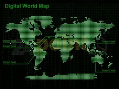 digital+world+map+ | Digital World Map