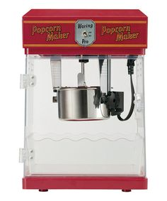 Take a look at this Red 8-Cup Professional Popcorn Maker by Waring on #zulily today!