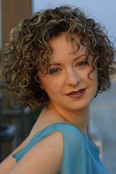 Short Curly Hairstyles for Women Over 50...