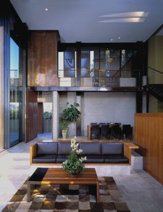 Living Room At The Redelco Residence By Pugh + Scarpa Architects