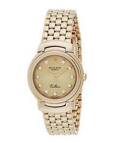 Rolex 1991 Women's Cellini Diamond Watch