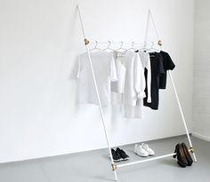 The Minimalist x love aesthetics diy leaning rack
