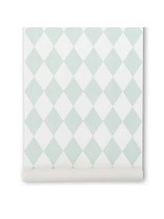 Ferm Living Harlequin mint behang