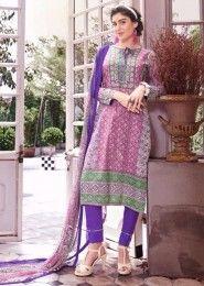 Casual Wear Cotton Multi Colour Printed Plazzo