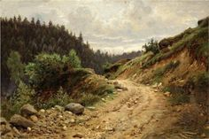 The road - Ivan Shishkin