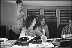 Jimmy Page and Robert Plant, A&M Studios, Los Angeles, May 1969