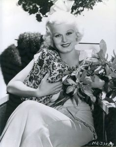 Jean Harlow, first from Christmas 1933