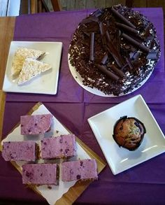 purple cakes Pancreatic Cancer Awareness Month, Purple Cakes, Pudding, Change, Baking, Coffee, Desserts, House, Food