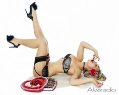 Robert Alvarado Pinup Model: Kristabelle xoxo