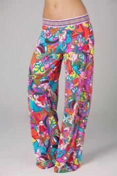 Trina Turk Fiji Flower Pants