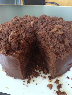 Ebinger's Blackout Cake: the legend, the recipe. This is one of the best chocolate cakes! From themom100.com.
