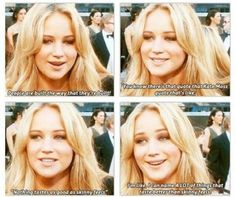 Jennifer Lawrence knows what's up.