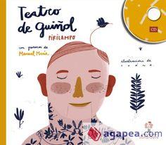 Teatro de guiñol, de Pirilampo. Un novo libro-disco de Sonárbore.
