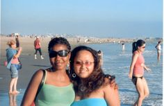 Venice Beach with Maggie (was this in 2005?)
