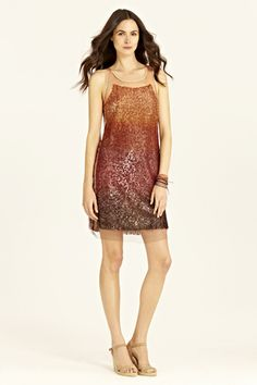 Gradient Sequin Dress inspired by the colors of the summer sunset. *sigh*