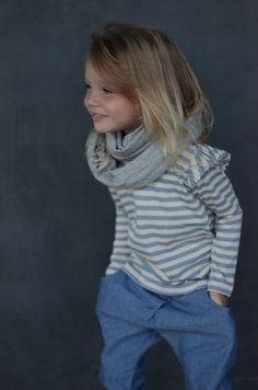 Love her simple, chic style. #designer #kids #fashion