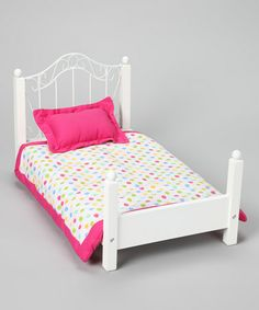 Take a look at this Doll Bed & Bedding Set by Springfield Collection on #zulily today!