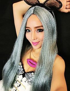 Simple and convenient Christmas Halloween Cosplay Festival Mixedhair Wig Long Straight Mixed Color Wig >>> Click on the affiliate link Amazon.com on image for additional details. Mixed Hair, Christmas Hairstyles, Halloween Cosplay, Wig Hairstyles, Color Mixing, Wigs, Health And Beauty, Disney Princess, Hair Styles