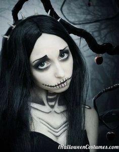 Halloween makeup - Halloween Costumes 2013 Halloween Makeup #halloween #makeup