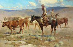 James Reynolds, Cowboys and Steers