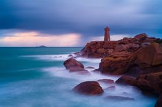 Images, Ocean, Night, Amazing, Water, Lighthouses, Pictures, Outdoor, Beautiful
