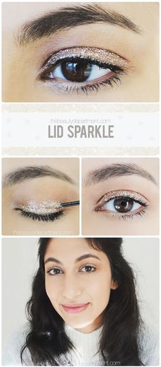 Sparkle & shine! #beauty #makeup #sparkle
