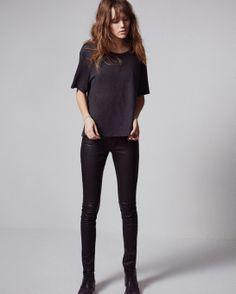 Freja Beha crée une ligne de jeans avec Mother
