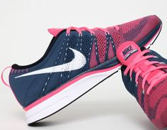 Light Pink Nike Free Run+ ❤    Want these #nike #shoes! Maybe they will motivate me to work out more! :)