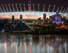 """Check out new work on my @Behance portfolio: """"The National Stadium in Warsaw"""" http://be.net/gallery/49262751/The-National-Stadium-in-Warsaw"""