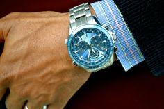 #AstronElite, Seiko Astron Elite Watch, Men's Style Pro, Navy blue corduroy suit