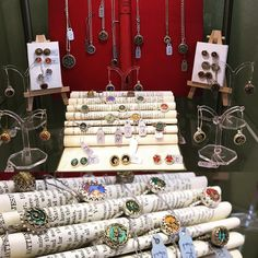 Check out our brand new range from Harvey & Quinn! Victorian and vintage buttons set into modern silver settings rings earrings pendants you name it! Simply divine darrrrling! #cambridge #oxford #independent #gift #shop #jewellery #silver #victorian #vintage #buttons #ring #earrings #necklace #pendant #unique