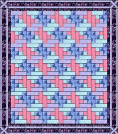 For load speed, I have used smaller images in this tutorial, click for larger. W hile trying to figure out a quilt pattern for my cousin for Christmas, I found a file on my hard drive called the Ti…
